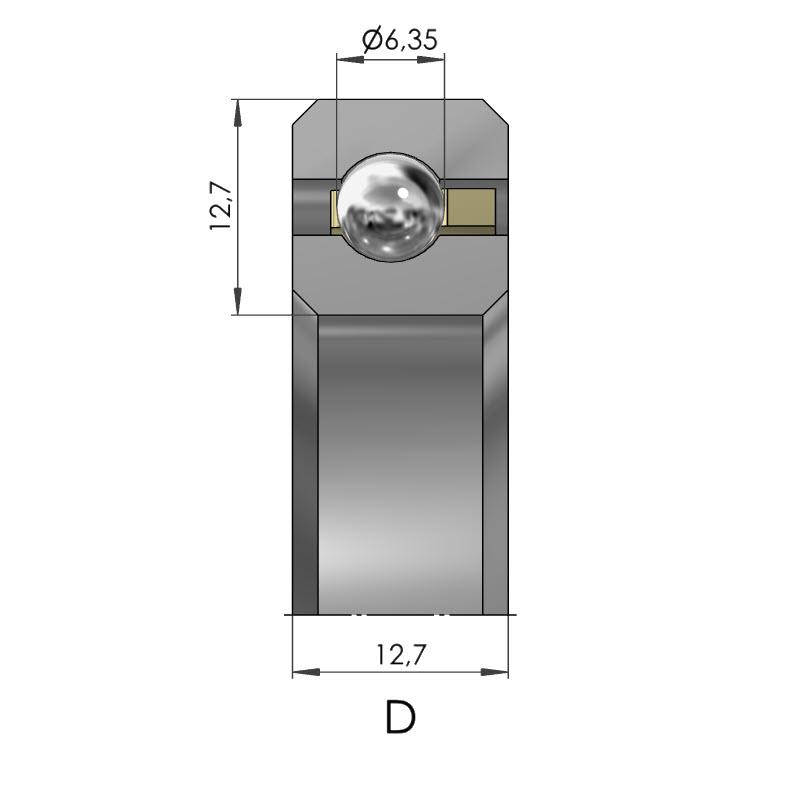 Dünnring Vierpunktlager CSXD