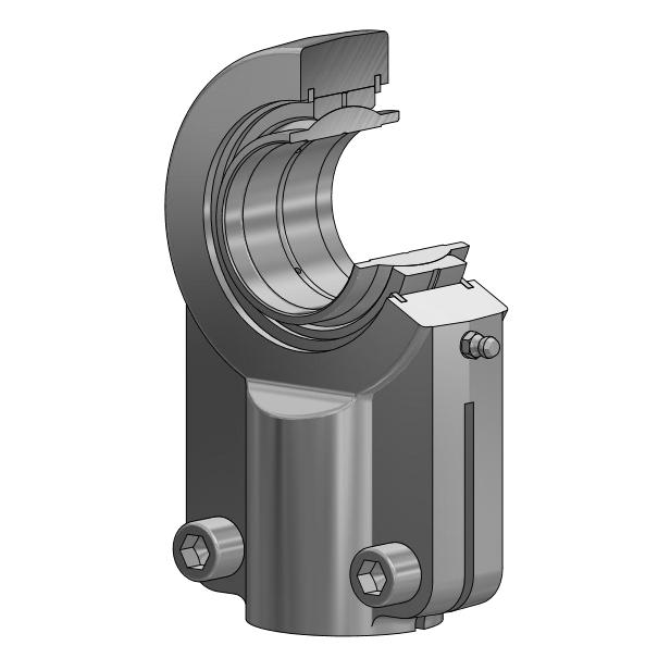 Hydraulik Gelenkkopf GIHNRK-LO / GIHNLK-LO nach DIN 24338 ISO 6982