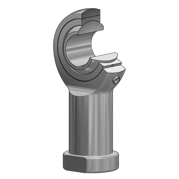 Radial Gelenkkopf GIKR-PB / GIKL-PB, DIN ISO 12240-4