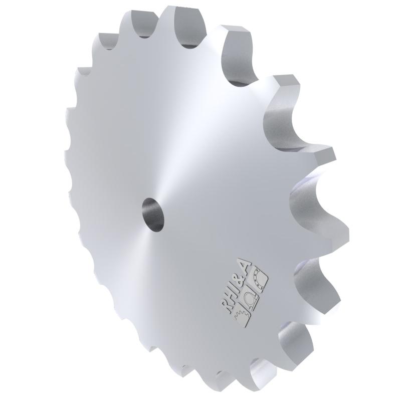 Kettenradscheibe 12B DIN 8192 für Rollenkette 12B DIN 8187