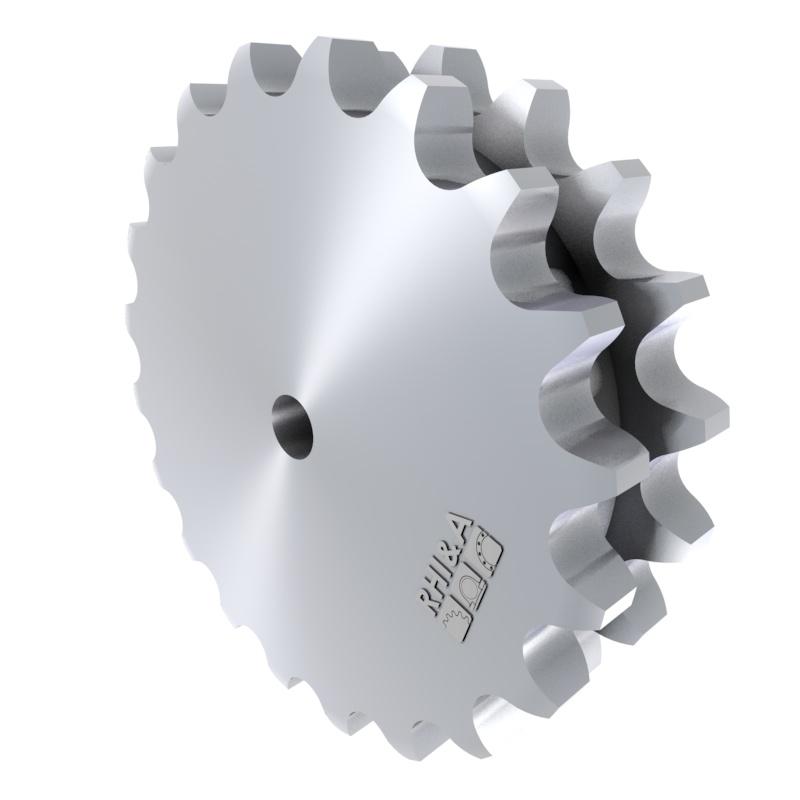 Kettenradscheibe 12B-2 DIN 8187