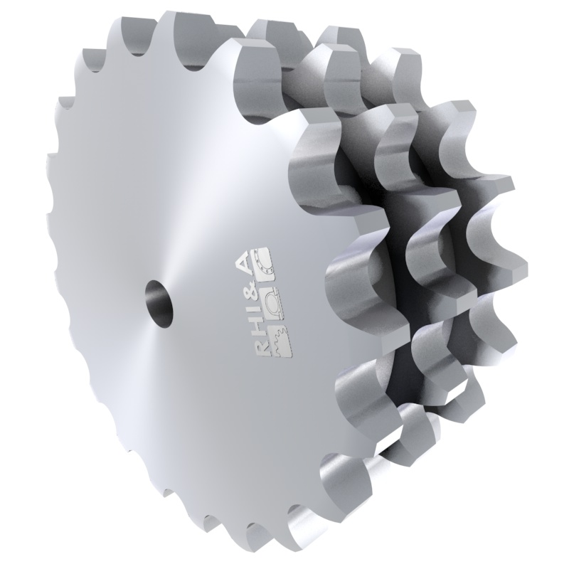Kettenradscheibe 12B-3 DIN 8187