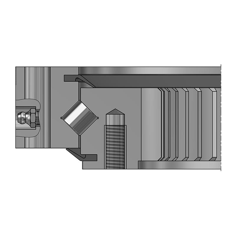 Kreuzrollenlager XSI - Schwere Reihe, Innenverzahnt