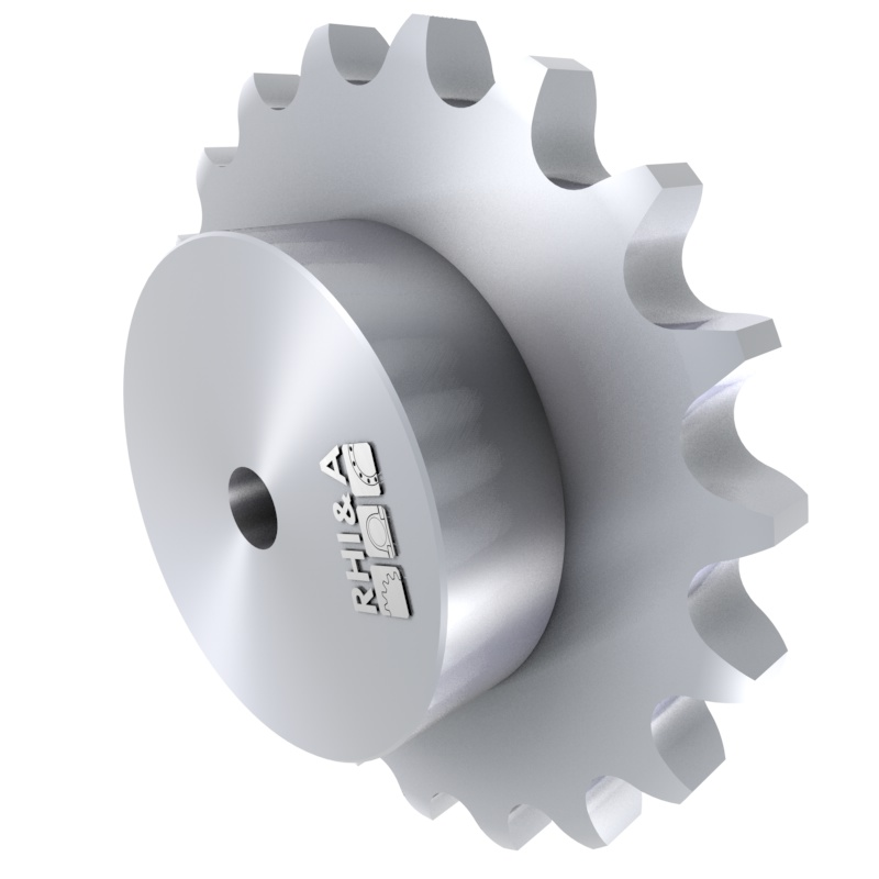 Taper-Kettenrad 06B DIN 8192 für Rollenkette 06B DIN 8187