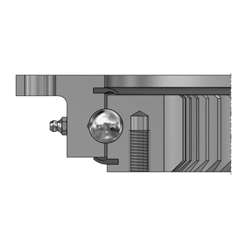 Vierpunktlager VLI 20 - Innenverzahnt
