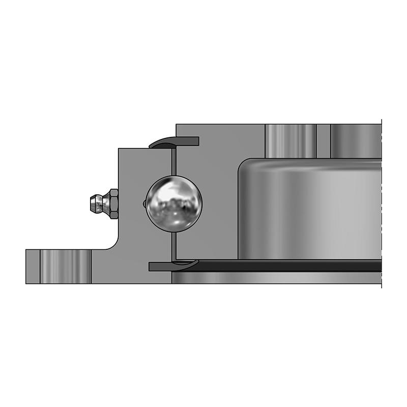 Vierpunktlager VLU 20 - Unverzahnt
