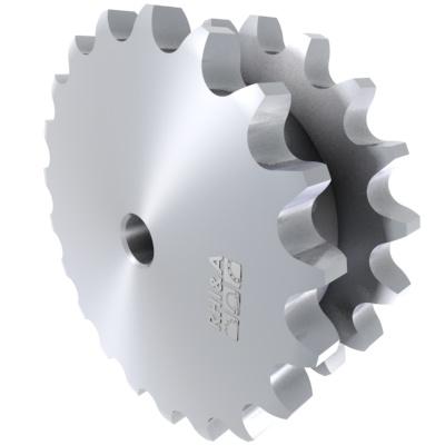 Doppel-Kettenradscheibe DIN 8187