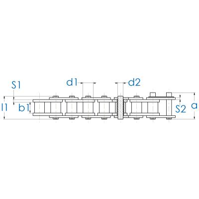 Rollenkette DIN 8188