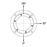Flanschlagergehäuse für SL05 und SL06