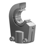 Hydraulik Gelenkkopf GIHRK-DO / GIHLK-DO mit Gewindeklemmeinrichtung