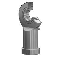 Radial Gelenkkopf GIR / GIL-DO, DIN ISO 12240-4