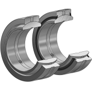 Radial Gelenklager GE...DO, DIN ISO 12240-1