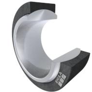 Radial Gelenklager GE...FW, DIN ISO 12240-1