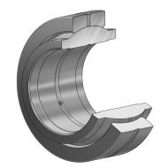 Radial Gelenklager GE...LO, DIN ISO 12240-1