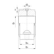 Gleitlagergehäuse DIN504 Form B ohne Buchse