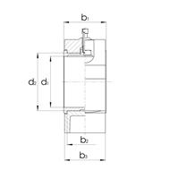 Gleitlagergehäuse DIN505 mit Buchse