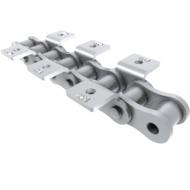 Einfach-Rollenkette mit beideitiger Winkellasche nach DIN 8187